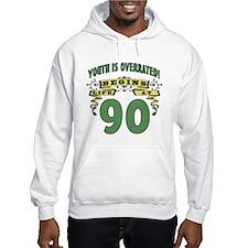 Life Begins At 90 Hoodie