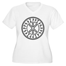Odin's Protection No.2_2c Plus Size T-Shirt