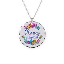 Nanas are Special Necklace Circle Charm