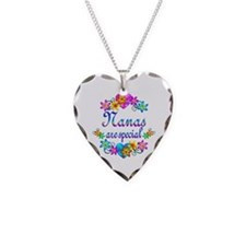 Nanas are Special Necklace Heart Charm