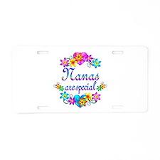 Nanas are Special Aluminum License Plate