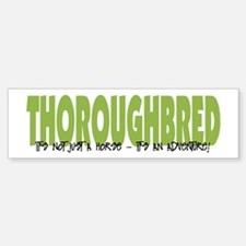 Thoroughbred ADVENTURE Bumper Bumper Bumper Sticker