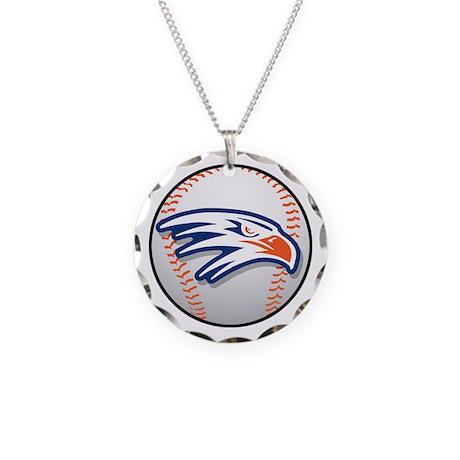 Hawks Baseball Necklace