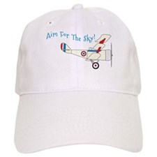 Aim For The Sky! Baseball Baseball Cap