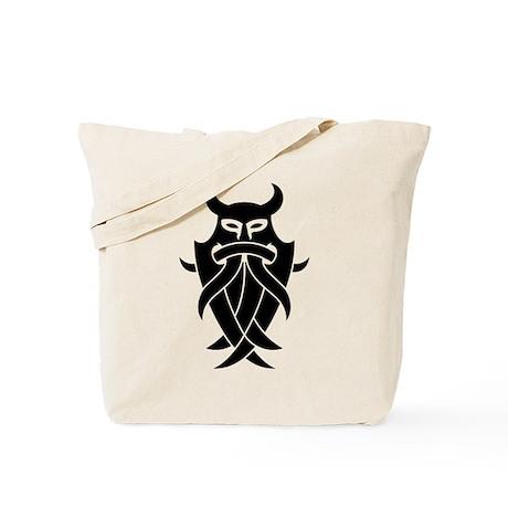 Odin's Mask Tribal Tote Bag