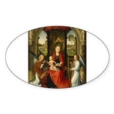 Hans Memling - Madonna and Child with Angels Stick
