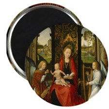 Hans Memling - Madonna and Child with Angels Magne