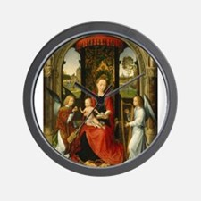Hans Memling - Madonna and Child with Angels Wall