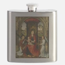 Hans Memling - Madonna and Child with Angels Flask