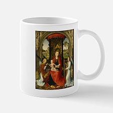 Hans Memling - Madonna and Child with Angels Mug