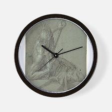 Hans Rottenhammer - Neptune Wall Clock