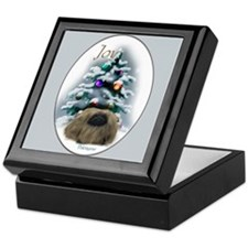 Pekingese Christmas Keepsake Box