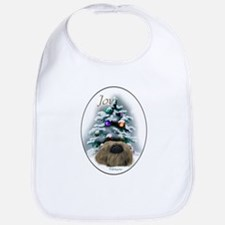 Pekingese Christmas Bib
