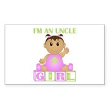 I'm An Uncle (TG:blk) Rectangle Decal