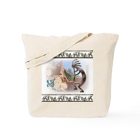 Kokopelli #8 Tote Bag