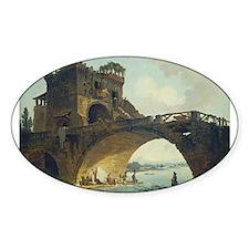 Hubert Robert - The Ponte Salario Decal