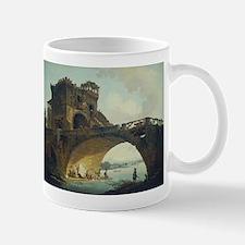 Hubert Robert - The Ponte Salario Mug