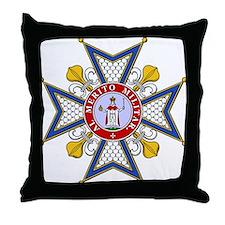 Order of St. Ferdinand Throw Pillow