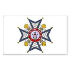 Order of St. Ferdinand Rectangle Decal