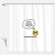 If PUAs Are Evil... Shower Curtain