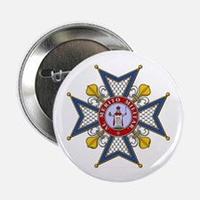 "Order of St. Ferdinand 2.25"" Button (10 pack)"
