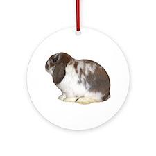 """Bunny 2"" Ornament (Round)"