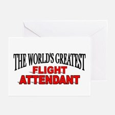 """The World's Greatest Flight Attendant"" Greeting C"