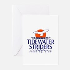 Tidewater Striders Greeting Cards (Pk of 10)