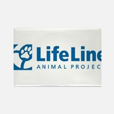 LifeLine Animal Project Rectangle Magnet