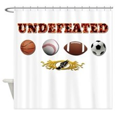 Undefeated Shower Curtain