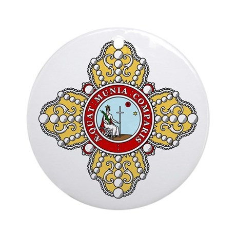 Order of St. Catherine (Russi Ornament (Round)