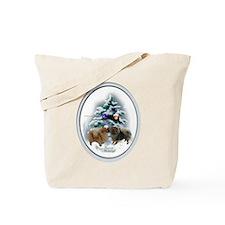 Pomeranian Christmas Tote Bag