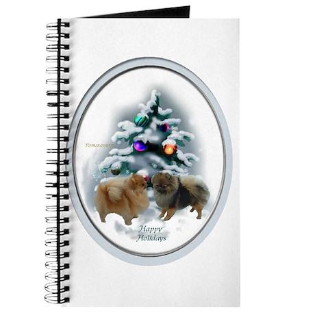 Pomeranian Christmas Journal