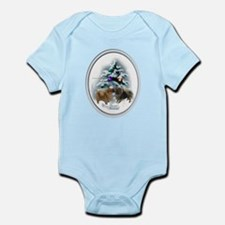 Pomeranian Christmas Infant Bodysuit