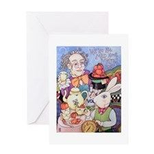 Tomato Tea Party Greeting Card