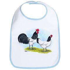 Lakenvelder Chickens Bib