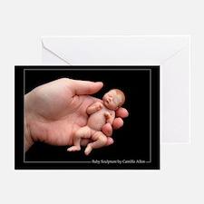 """Jaden"" 5X7 Greeting Cards (Blank,Pk of 10)"