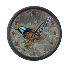 Wren Large Wall Clock