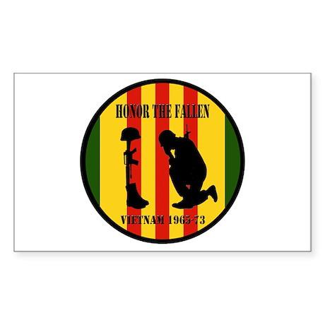 Honor the Fallen Vietnam 1965-73 Sticker