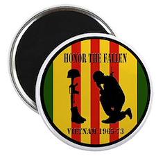 """Honor the Fallen Vietnam 1965-73 2.25"""" Magnet (100"""