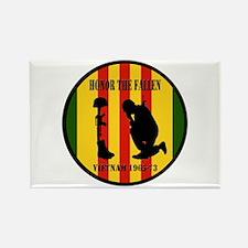 Honor the Fallen Vietnam 1965-73 Rectangle Magnet