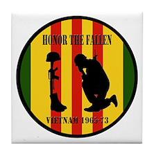 Honor the Fallen Vietnam 1965-73 Tile Coaster
