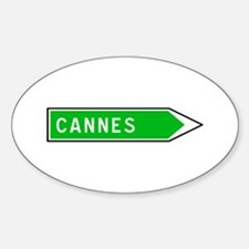 Roadmarker Cannes - France Oval Decal