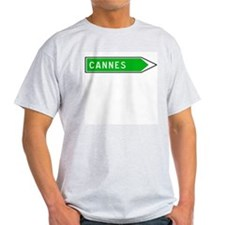 Roadmarker Cannes - France Ash Grey T-Shirt