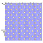Polka Dot Pattern Shower Curtain