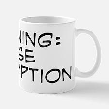 Warning: I Use Encryption Mug