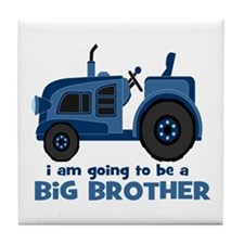 I am Going to be a Big Brother Tile Coaster