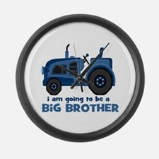 I am Going to be a Big Brother Large Wall Clock