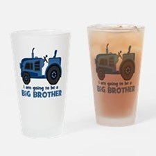 I am Going to be a Big Brother Drinking Glass