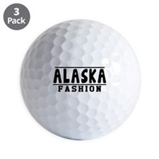 Alaska Fashion Designs Golf Ball